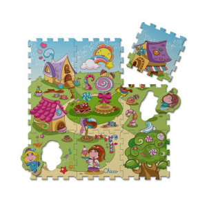 Chicco - Tapis Puzzle Candy