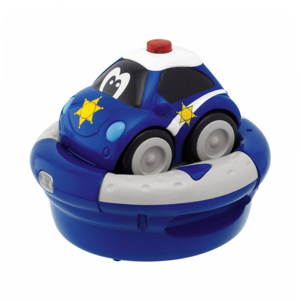 Voiture Chicco RC rechargeable bleue