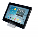 T'nB Support transportable pour Tablette/Smartphone Blanc
