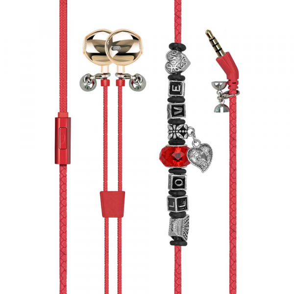 Ecouteurs Promate Vogue 3 Red