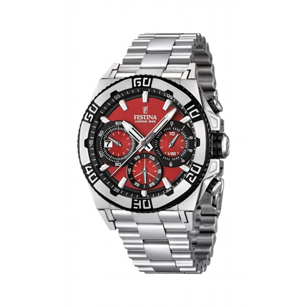 Festina - F16658/8 - Montre Homme - Tour de France - Rouge