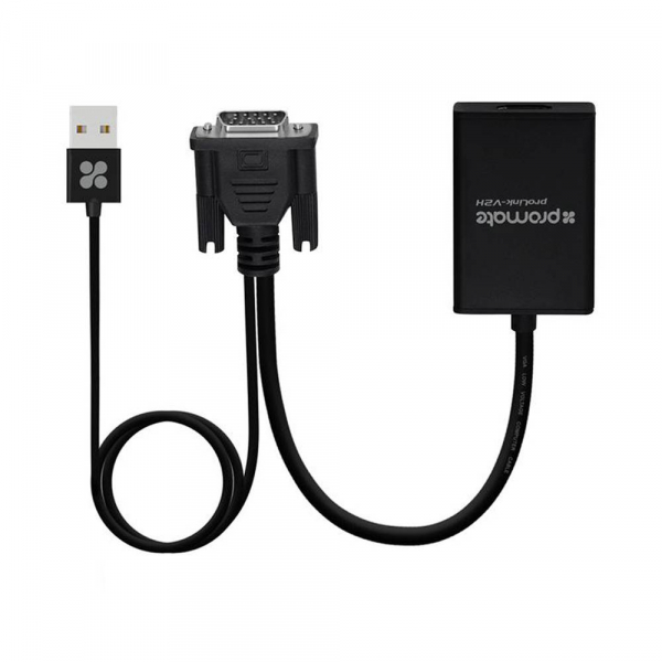Adaptateur HDMI/VGA+Audio Promate PROLINK-V2H BLACK