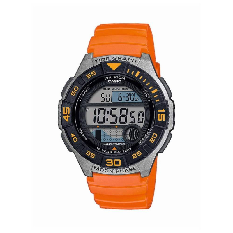 Montre Homme Casio Ws-1100H-4Avdf Cs 1560 Orange