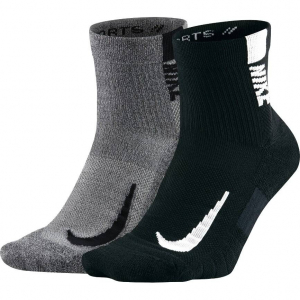 Chausettes Nike Multiplier Running 2 Paires - SX7556-916