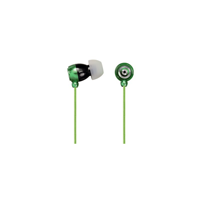 Hama - 109270 - Ecouteurs intra auriculaires micro Style Vert