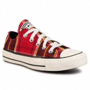 Basket Femme Converse All Star Low Top - Rouge - 568926C