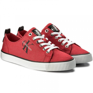 Baskets Femme Calvin Klein Jeans R8953-RED - Rouge