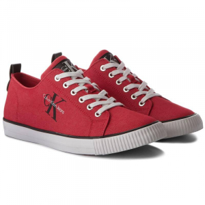 Baskets Homme Calvin Klein Jeans S1483-RED - Rouge