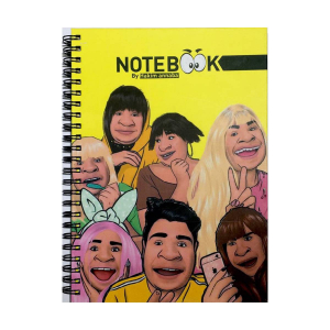 Note Book - By Hakim Annaba - Petit format - 73 pages