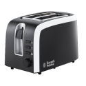 Russell Hobbs - 18535-56 - Mono Grille-Pain 2 Fentes Design Rétro Inox 1100 W